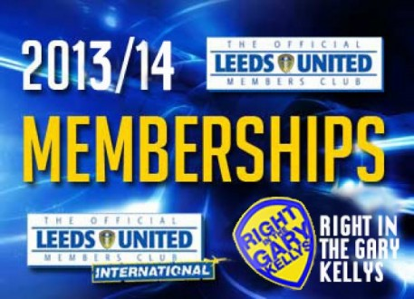 2013/2014 LUFC Memberships the RITGK Way