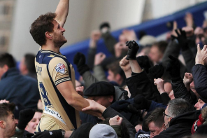 Scenes As Super Sub Sharp Grabs Leeds Win