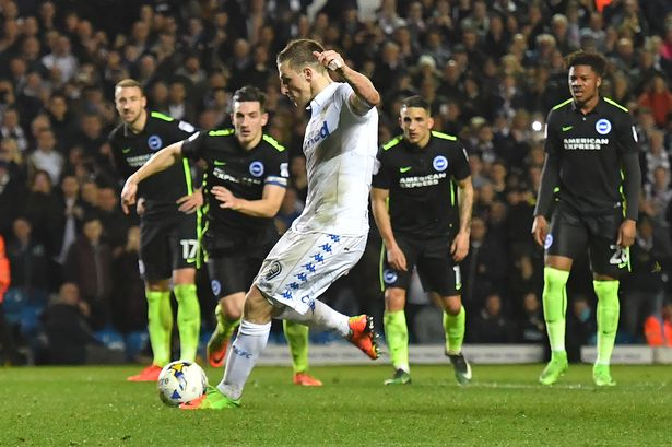 Chris Wood, Leeds v Brighton